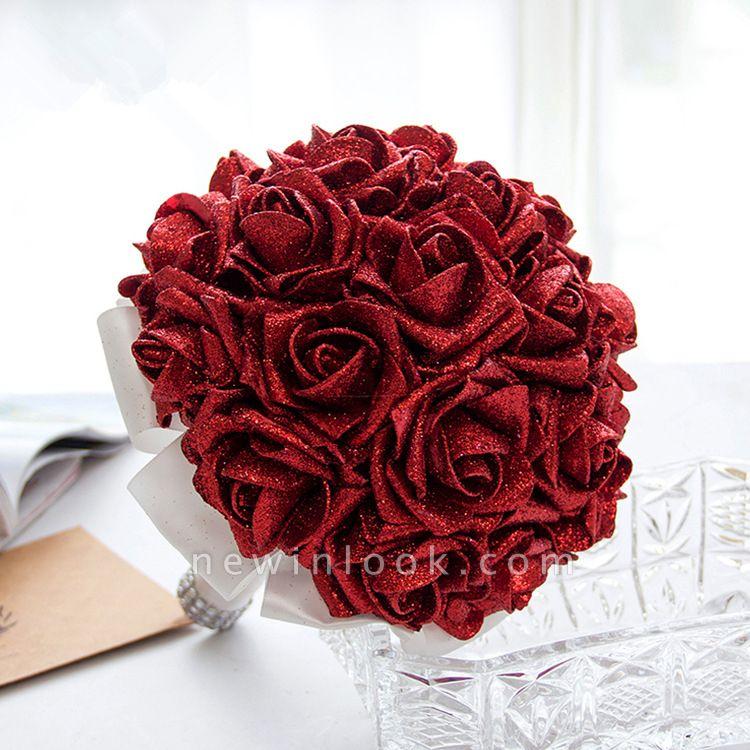 Sparkle Multiple Colors Rose Quinceanera Bouquet