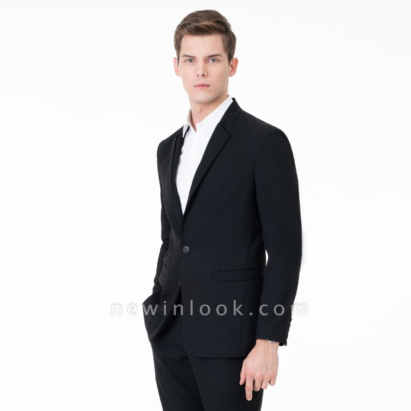 Two-piece Suit Peak Lapel Single Breasted Casual Suits | Chambelanes tuxedos for my quince