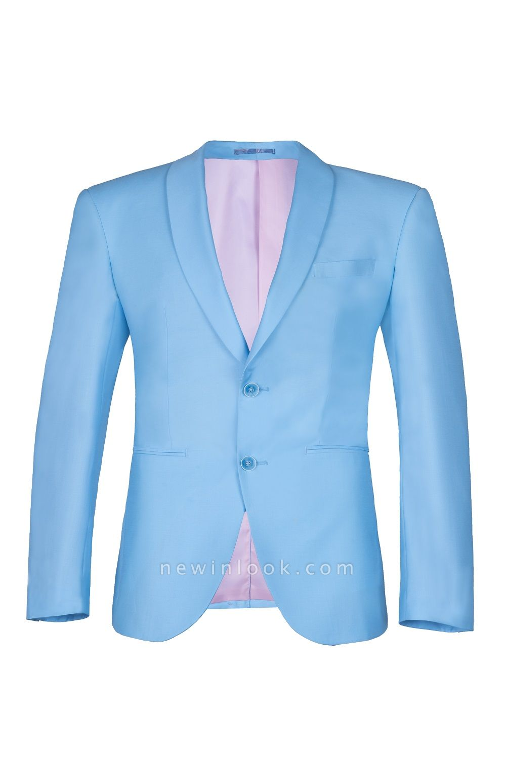 Custom Made Pool Shawl Lapel Two Button Single Breasted Chambelanes Tuxedos