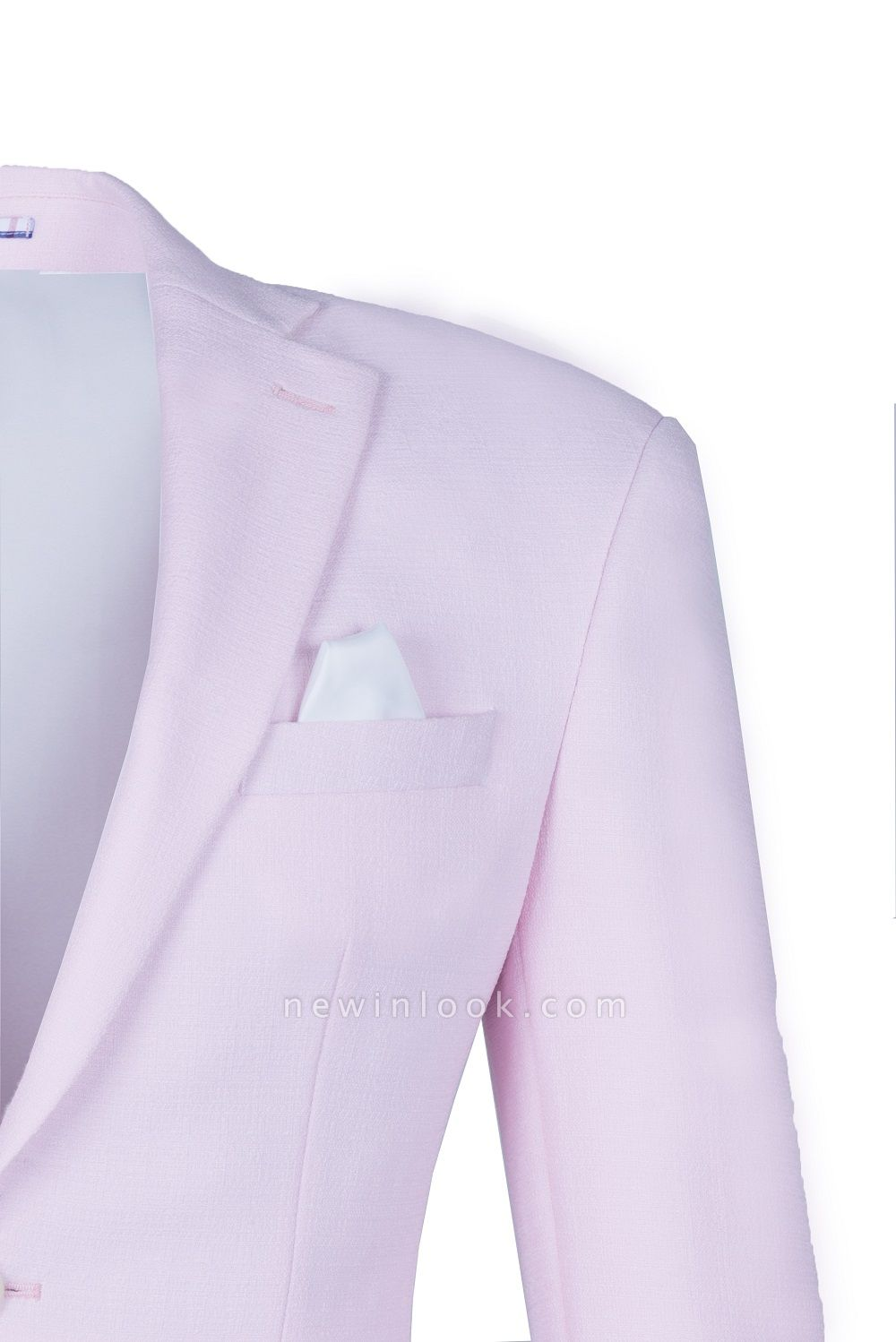 Candy Pink High Quality Single Breasted Peak Lapel Chambelanes Tuxedos