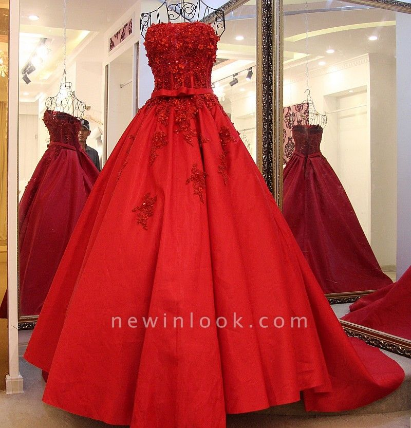 Illusion Strapless Ribbons Pearls Quinceanera Dress
