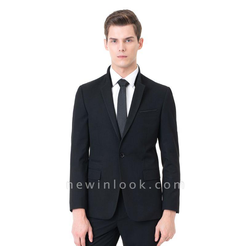 Moda pico solapa dos piezas | con pantalones trajes de boda