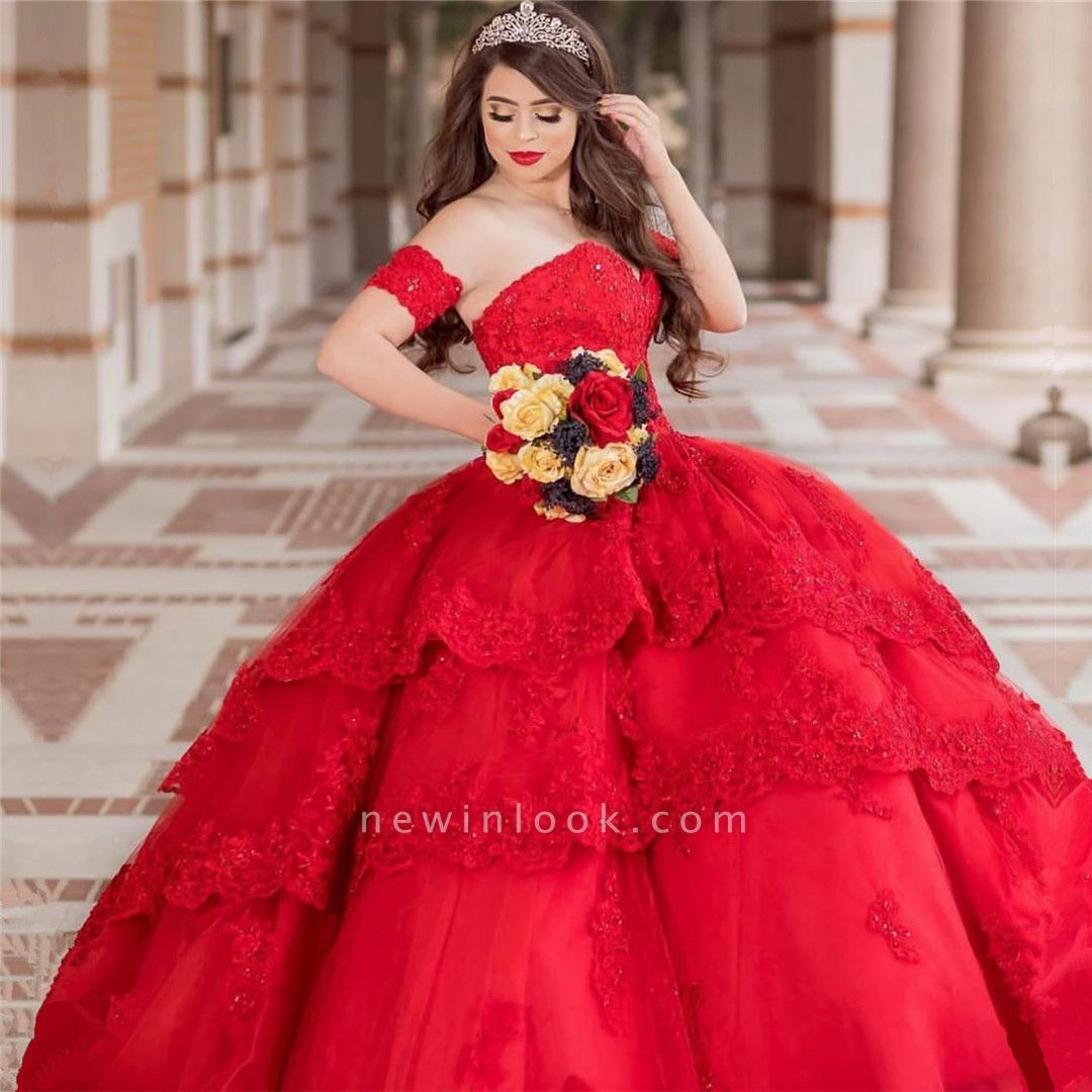 Excellent Strapless Sweetheart Ball Gown Quince Dresses | Appliques XV Dresses Long
