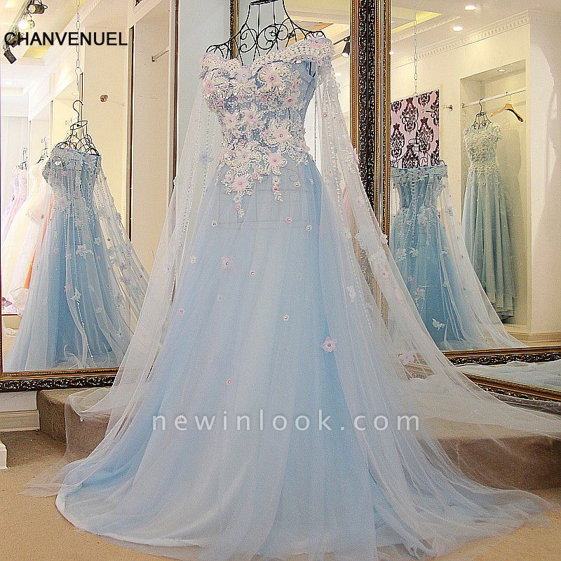 Off the Shoulder Appliques Sweetheart Quinceanera Dress
