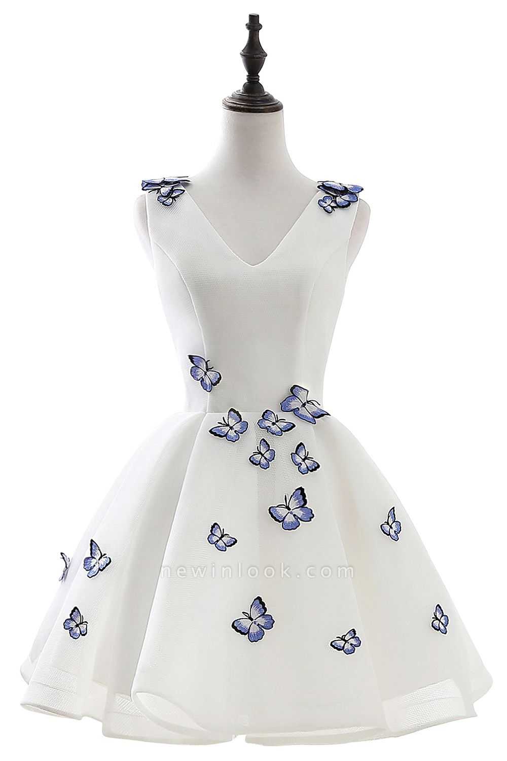 ANGEL | Quinceanera Cute 15 Dama Dress With Butterfly