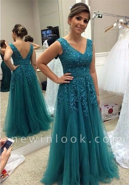 Modest Straps A-line Beading Sleeveless Belt Quinceanera Mother Dress