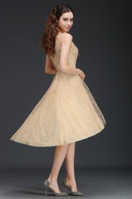 vestido de regreso a casa con perlas | Una línea de Hi-Lo Popular_7