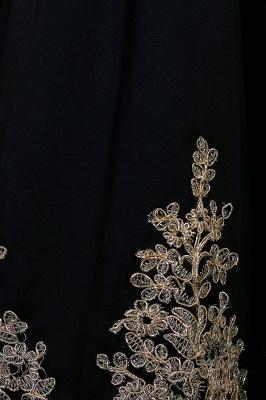 Simple vestidos de cóctel corte | cuello colgando burdeos_11