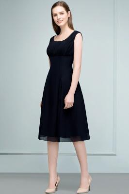 SUZANNE | Quinceanera Tea Length Sleeveless Ruffled Chiffon Dama Dresses_4