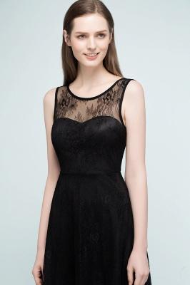 REBEKAH | Quinceanera Knee Length Sleeveless Lace Dama Dresses_7