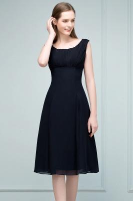 SUZANNE | Quinceanera Tea Length Sleeveless Ruffled Chiffon Dama Dresses_7