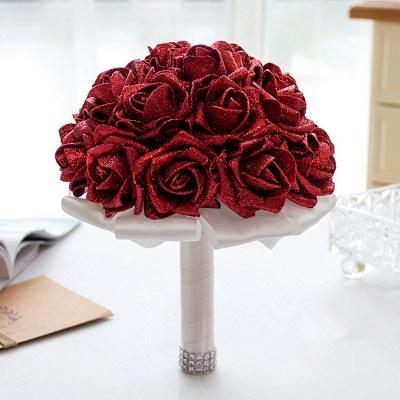 Sparkle Multiple Colors Rose Quinceanera Bouquet_8