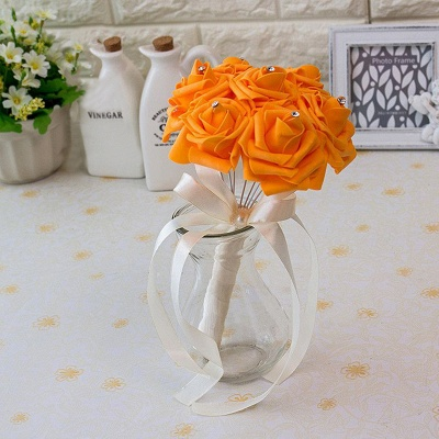 Small Quinceanera Bouquet in Multiple Colors with Robbin_11