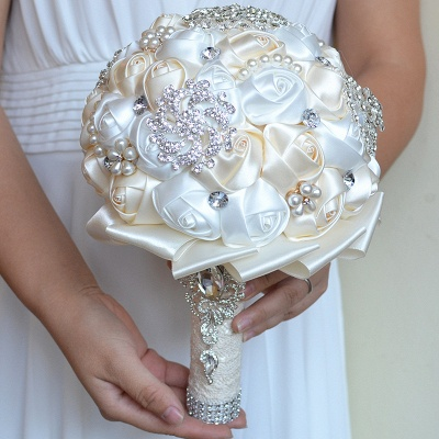 Gorgeous Beading Quinceanera Bouquet in Multiple Colors_9