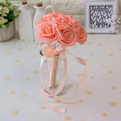 Small Quinceanera Bouquet in Multiple Colors with Robbin_7