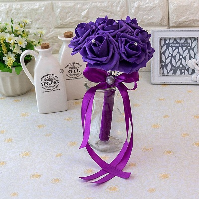 Small Quinceanera Bouquet in Multiple Colors with Robbin_14