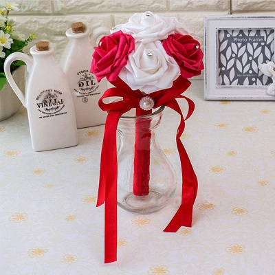 Small Quinceanera Bouquet in Multiple Colors with Robbin_9