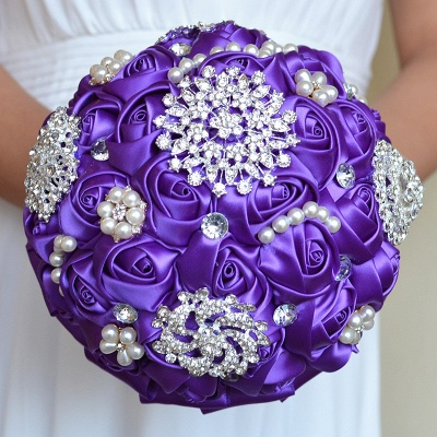 Gorgeous Beading Quinceanera Bouquet in Multiple Colors_6