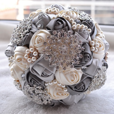 Gorgeous Beading Quinceanera Bouquet in Multiple Colors_7