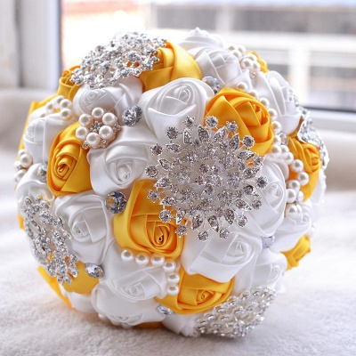 Gorgeous Beading Quinceanera Bouquet in Multiple Colors_5