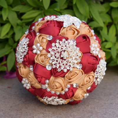 Gorgeous Beading Quinceanera Bouquet in Multiple Colors_4