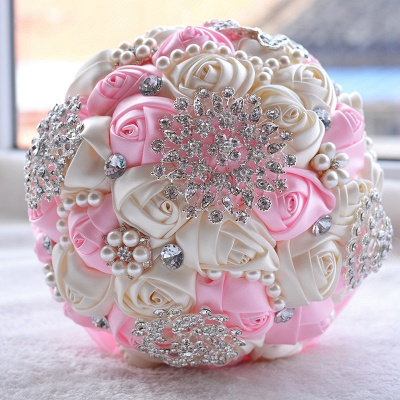 Gorgeous Beading Quinceanera Bouquet in Multiple Colors_3