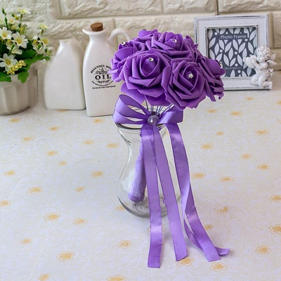Small Quinceanera Bouquet in Multiple Colors with Robbin_15