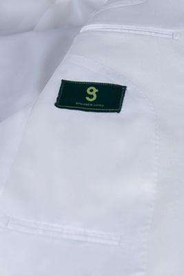 traje casual padrinos de boda pico solapa | De alta calidad de espalda blanca de ventilación de dos botones_6