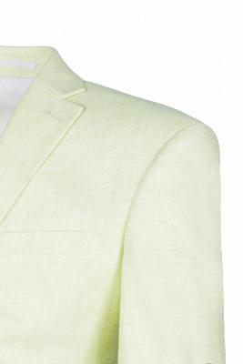 Pa_uelo de alta calidad con forma de pabellón de neón | Padrinos de boda de corte cruzado Un solo traje_4