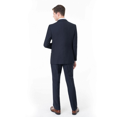 Peak Lapel Two Pieces with Pants Two Button Comfortable Casual Suits | Chambelanes tuxedos for my quince_2