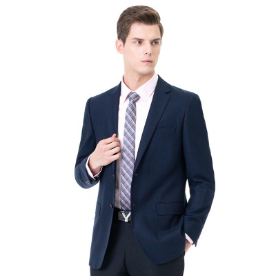 Two-piece Suit Peak Lapel Two Button Single Breasted Slim Fit | Chambelanes tuxedos for my quince_3