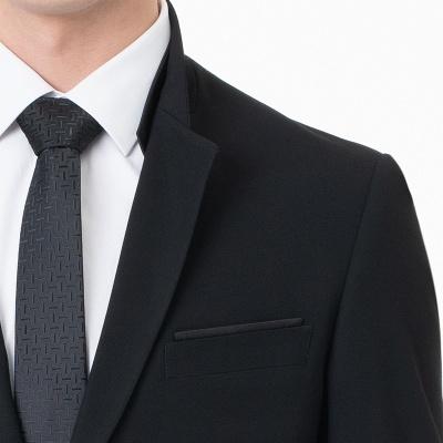 Moda pico solapa dos piezas | con pantalones trajes de boda_4