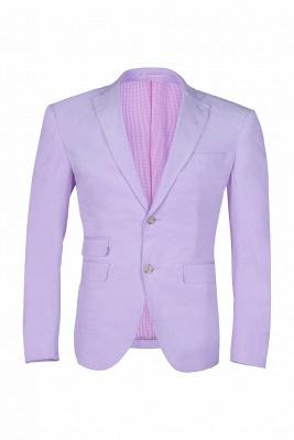 traje de boda por encargo caliente recomendar | lavanda pico solapa solo pecho_1