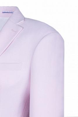 Traje rosado de alta calidad | la solapa del pecho de la solapa del pecho rosado_4