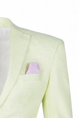 Pa_uelo de alta calidad con forma de pabellón de neón | Padrinos de boda de corte cruzado Un solo traje_3