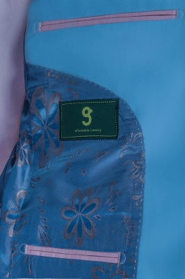 Custom Made Pool Shawl Lapel Two Button Single Breasted Chambelanes Tuxedos_6