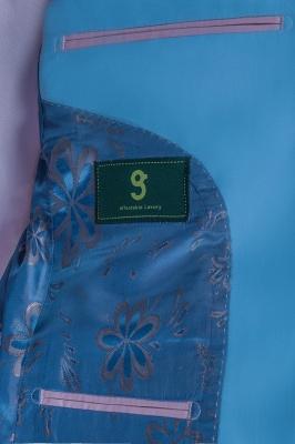Trajes de boda de botones de solapa | con botones de solapa de botones hechos a medida_6