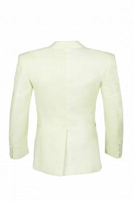 Pa_uelo de alta calidad con forma de pabellón de neón | Padrinos de boda de corte cruzado Un solo traje_5