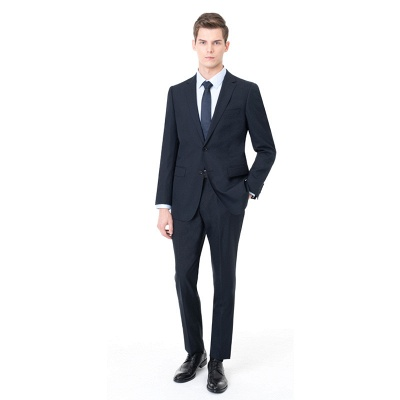 Two-piece Suit Peak Lapel Single Breasted Chambelanes Tuxedos | Chambelanes tuxedos for my quince_5