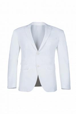 traje casual padrinos de boda pico solapa | De alta calidad de espalda blanca de ventilación de dos botones_1