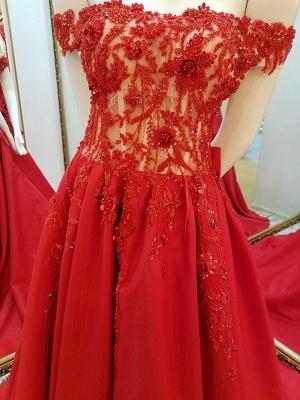vestidos de quincea_era fuera del hombro | Elegantes Apliques de una línea_3