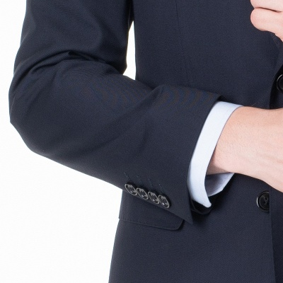 Peak Lapel Two Pieces with Pants Two Button Comfortable Casual Suits | Chambelanes tuxedos for my quince_5