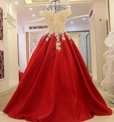 Stylish Off the Shoulder Sweetheart Quinceanera Dress_1