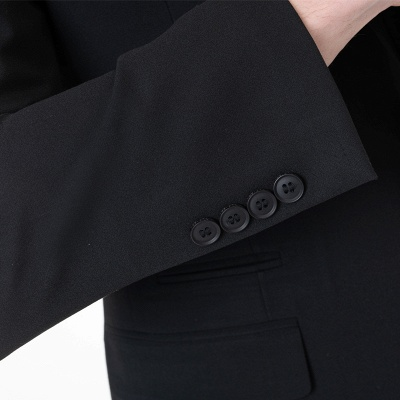 Fashion Peak Lapel Two Pieces with Pants Chambelanes Tuxedos_5