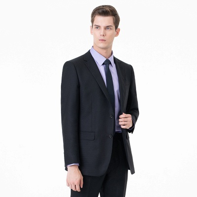 High Quality Two-piece Suit Single Breasted Chambelanes Tuxedos_2