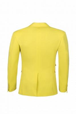 Boda traje trasero ventilación | De alta calidad moda dos botones narciso_5