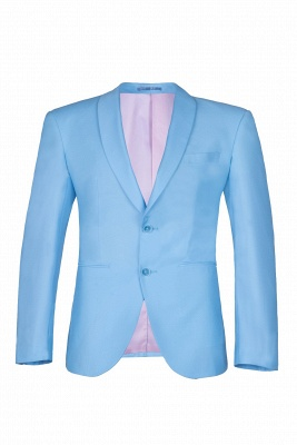 Custom Made Pool Shawl Lapel Two Button Single Breasted Chambelanes Tuxedos_1
