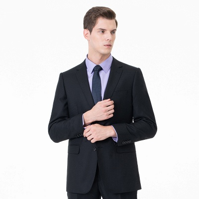 High Quality Two-piece Suit Single Breasted Chambelanes Tuxedos_1