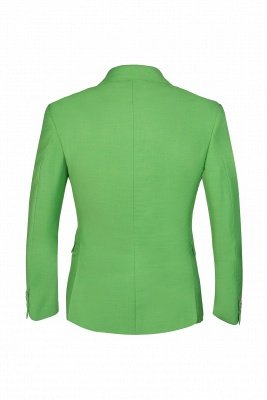 Popular Stylish Design Jade Single Breasted Back Vent Peak Lapel | Chambelanes tuxedos for my quince_5