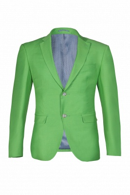 Popular Stylish Design Jade Single Breasted Back Vent Peak Lapel | Chambelanes tuxedos for my quince_3